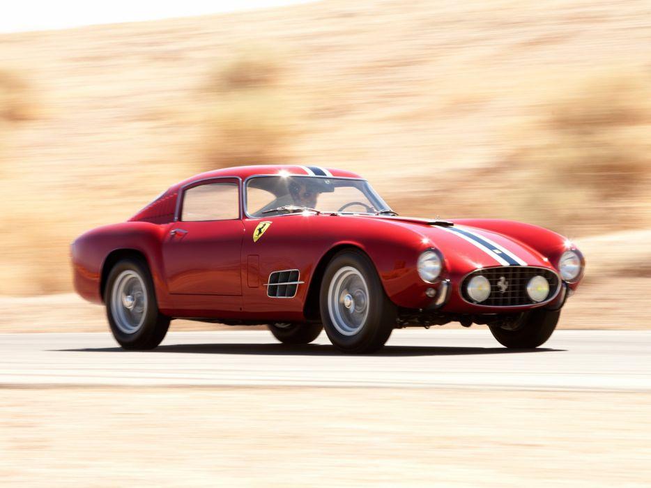 1957 Ferrari 250 G-T Tour-de-France 14-louver Scaglietti Berlinetta supercar race racing retro   v wallpaper