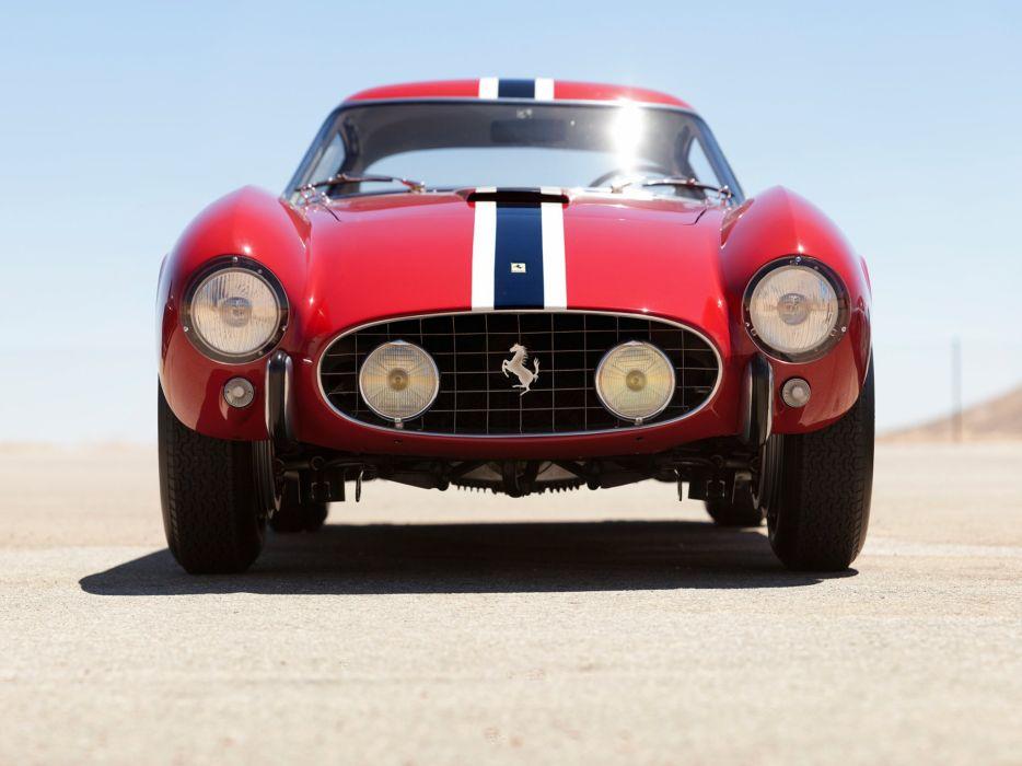 1957 Ferrari 250 G-T Tour-de-France 14-louver Scaglietti Berlinetta supercar race racing retro  b wallpaper