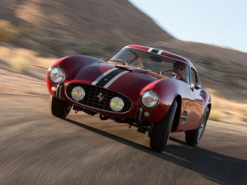 1957 Ferrari 250 G-T Tour-de-France 14-louver Scaglietti Berlinetta supercar race racing retro  gd wallpaper