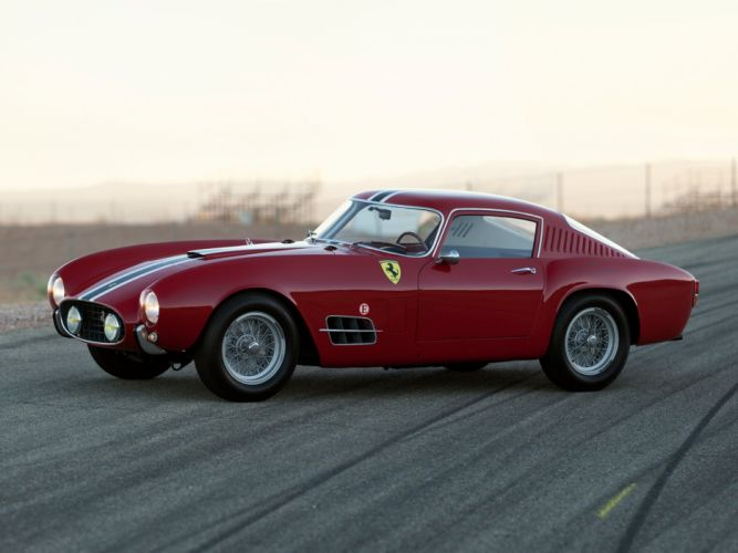 1957 Ferrari 250 G-T Tour-de-France 14-louver Scaglietti Berlinetta supercar race racing retro h wallpaper
