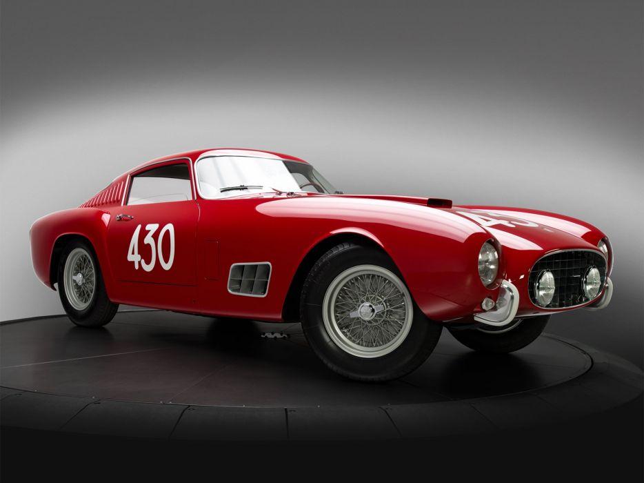 1957 Ferrari 250 G-T Tour-de-France 14-louver Scaglietti Berlinetta supercar race racing retro  c wallpaper