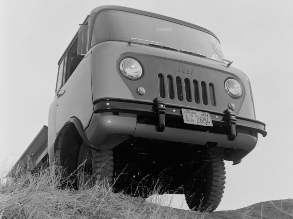 1957 Willys Jeep FC-150 4x4 pickup offrosd military   g wallpaper