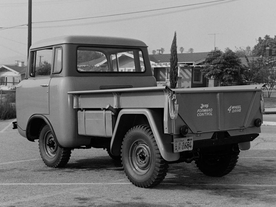 1957 Willys Jeep FC-150 4x4 pickup offrosd military (2) wallpaper