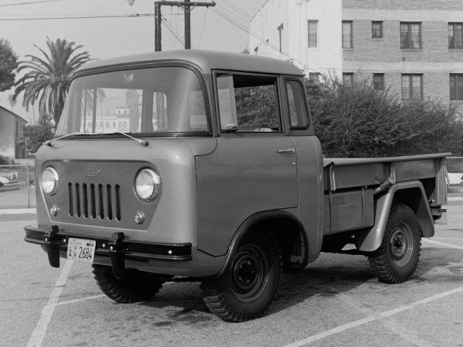 1957 Willys Jeep FC-150 4x4 pickup offrosd military (1) wallpaper