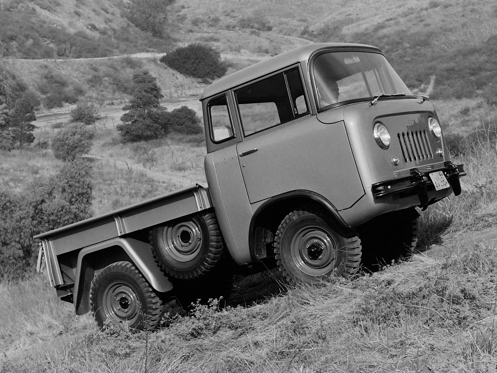 1957 Willys Jeep Fc 150 4x4 Pickup Offrosd Military 3 Wallpaper Concept Truck 1600x1200 287162 Wallpaperup