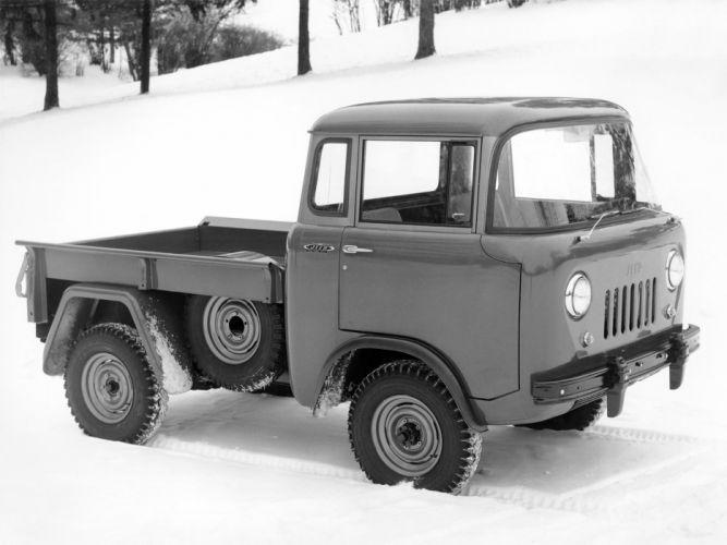 1957 Willys Jeep FC-150 4x4 pickup offrosd military (4) wallpaper