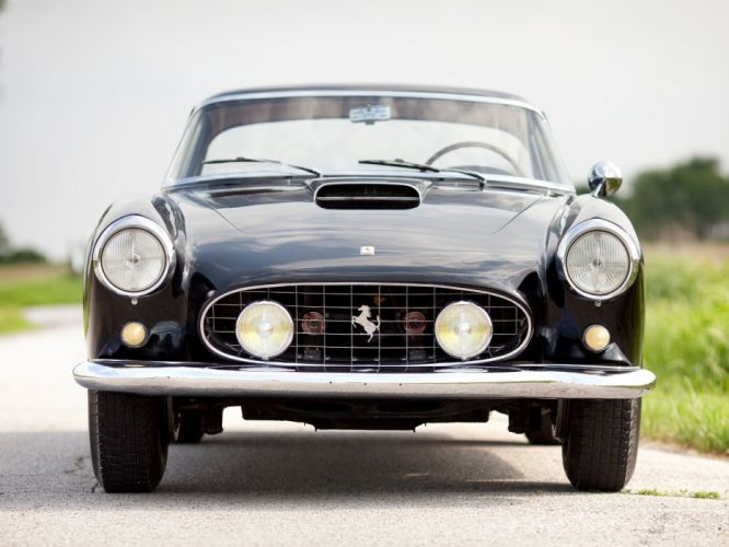 1958 Ferrari 410 Superamerica Series-II retro supercar h wallpaper