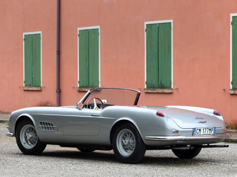 1958-59 Ferrari 250 G-T Cabriolet Series-I retro supercar   f wallpaper