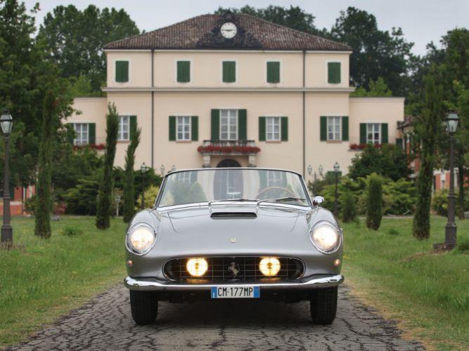 1958-59 Ferrari 250 G-T Cabriolet Series-I retro supercar fa wallpaper