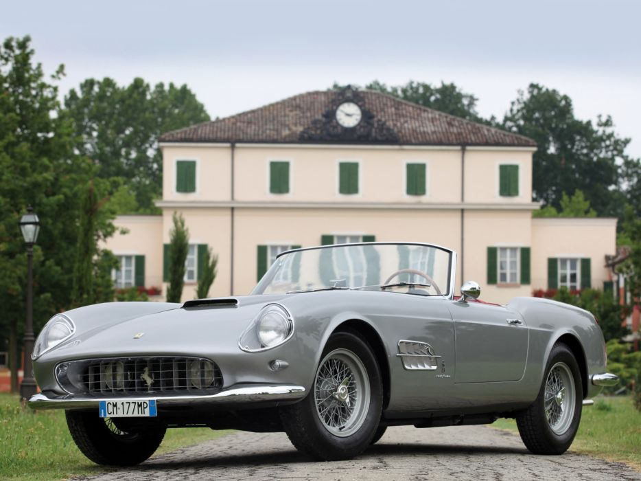 1958-59 Ferrari 250 G-T Cabriolet Series-I retro supercar g wallpaper