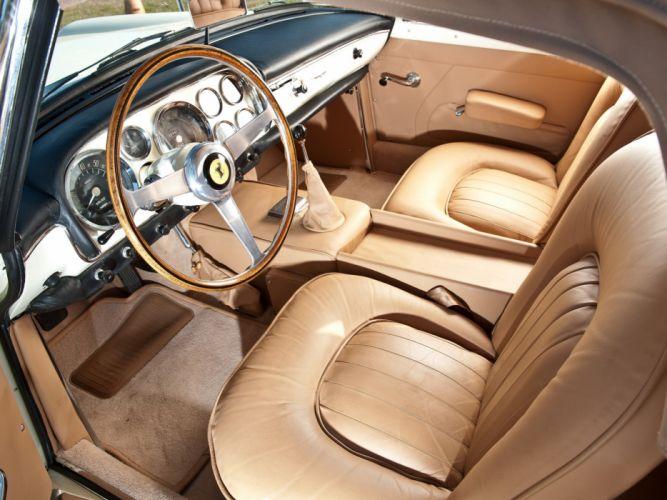 1959-62 Ferrari 250 G-T Cabriolet Series-II retro classic supercar interior g wallpaper