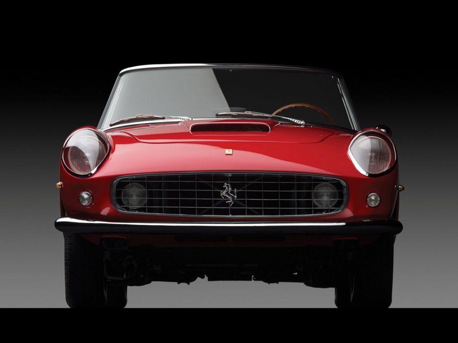 1959-62 Ferrari 250 G-T Cabriolet Series-II retro classic supercar  hs wallpaper