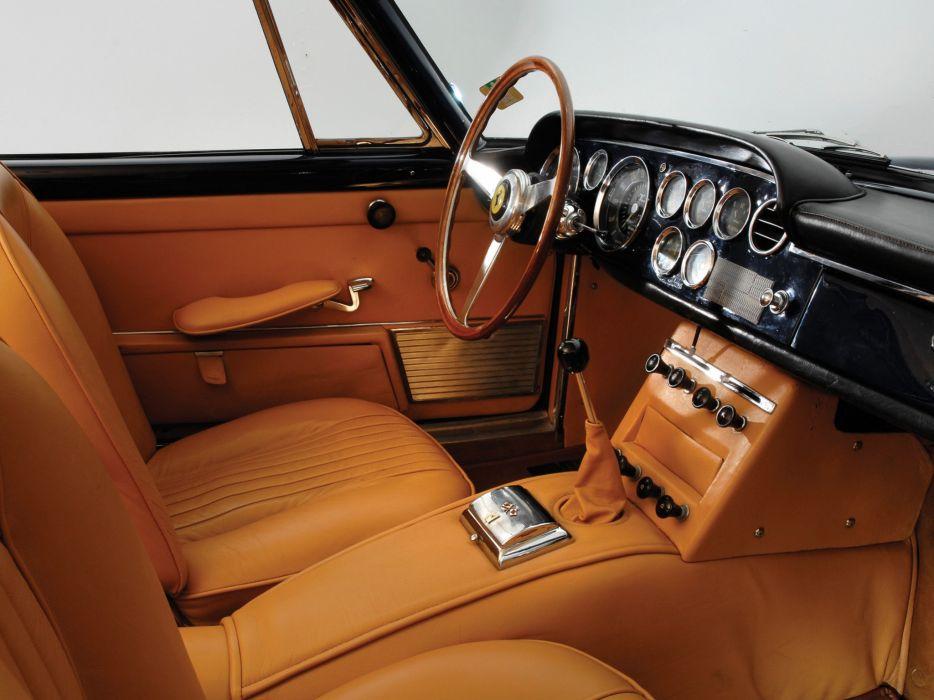 1960-62 Ferrari 250 GTE 2-2 supercar classic interior c wallpaper