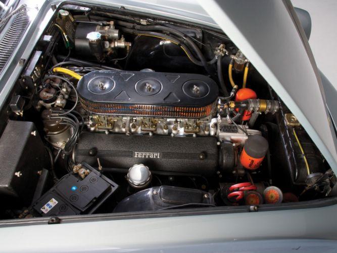 1960-62 Ferrari 250 GTE 2-2 supercar classic engine d wallpaper