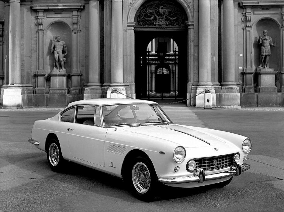 1960-62 Ferrari 250 GTE 2-2 supercar classic  w wallpaper