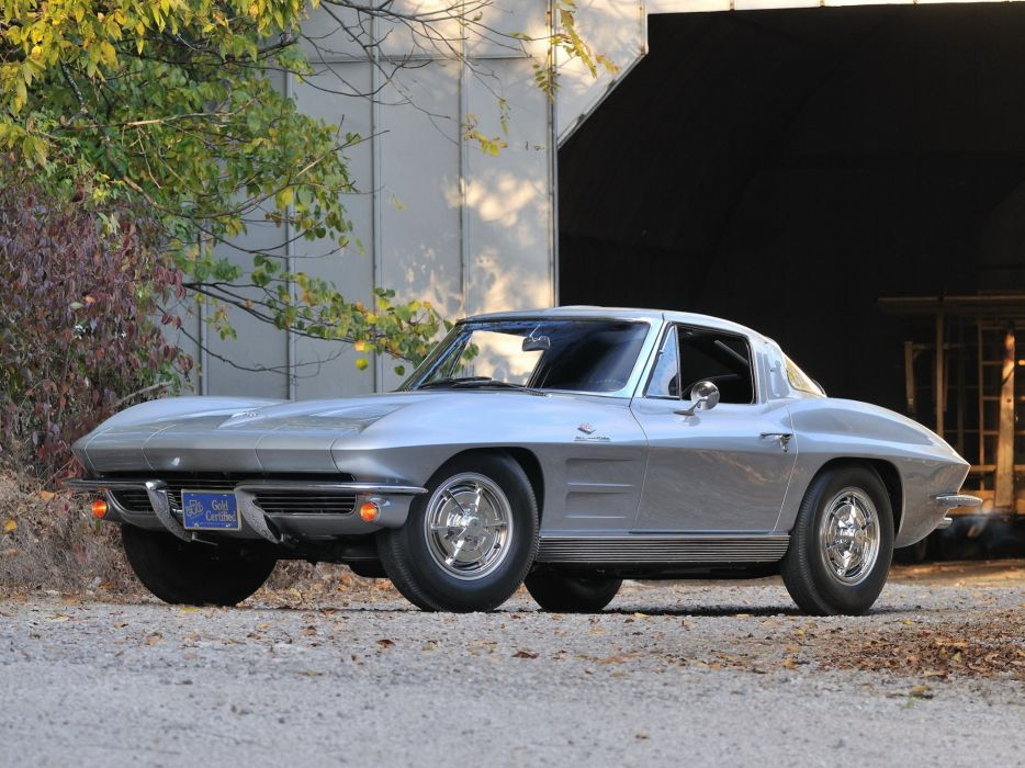 1963 Chevrolet Corvette StingRay Z06 C-2 muscle supercar classic sting ray     g wallpaper