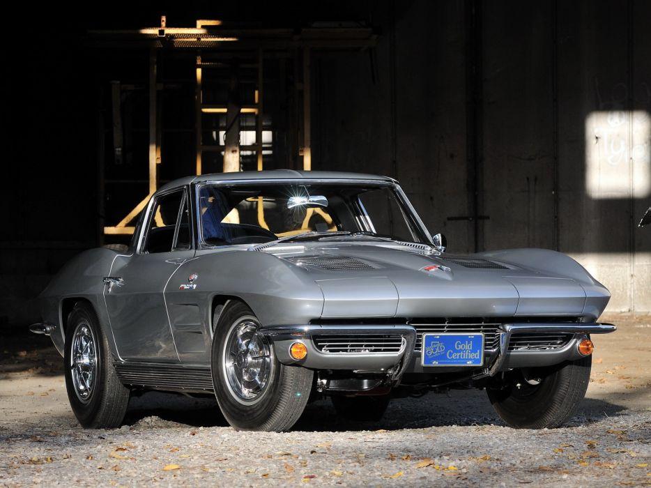 1963 Chevrolet Corvette StingRay Z06 C-2 muscle supercar classic sting ray    j wallpaper