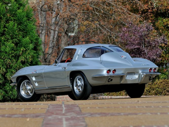 1963 Chevrolet Corvette StingRay Z06 C-2 muscle supercar classic sting ray h wallpaper