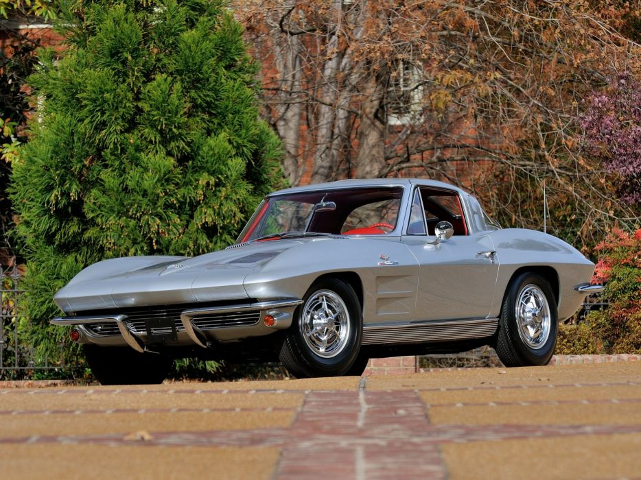 1963 Chevrolet Corvette StingRay Z06 C-2 muscle supercar classic sting ray  h wallpaper