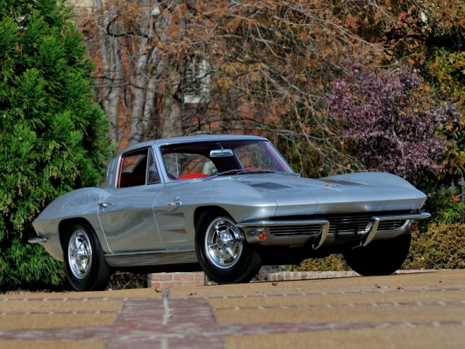 1963 Chevrolet Corvette StingRay Z06 C-2 muscle supercar classic sting ray f wallpaper
