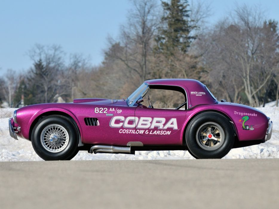 1963 Shelby Cobra Coupe Dragon Snake ford drag racing race hot rod rods muscle classic  d wallpaper