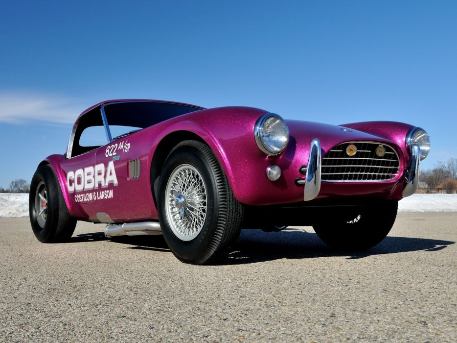 1963 Shelby Cobra Coupe Dragon Snake ford drag racing race hot rod rods muscle classic   e wallpaper