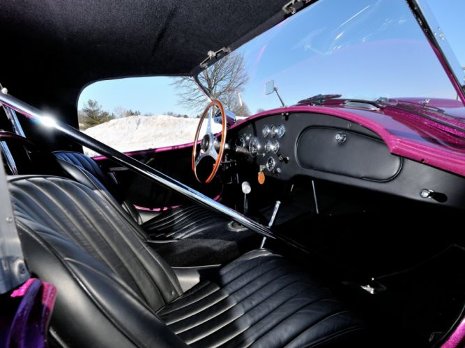 1963 Shelby Cobra Coupe Dragon Snake ford drag racing race hot rod rods muscle classic interior g wallpaper
