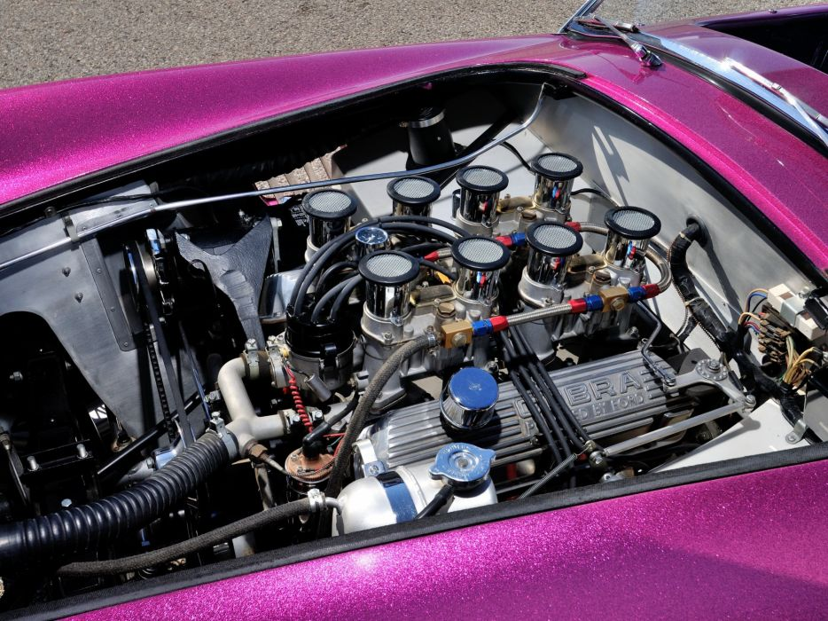 1963 Shelby Cobra Coupe Dragon Snake ford drag racing race hot rod rods muscle classic engine  r wallpaper