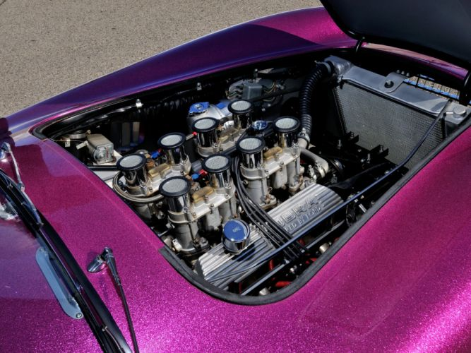1963 Shelby Cobra Coupe Dragon Snake ford drag racing race hot rod rods muscle classic engine f wallpaper