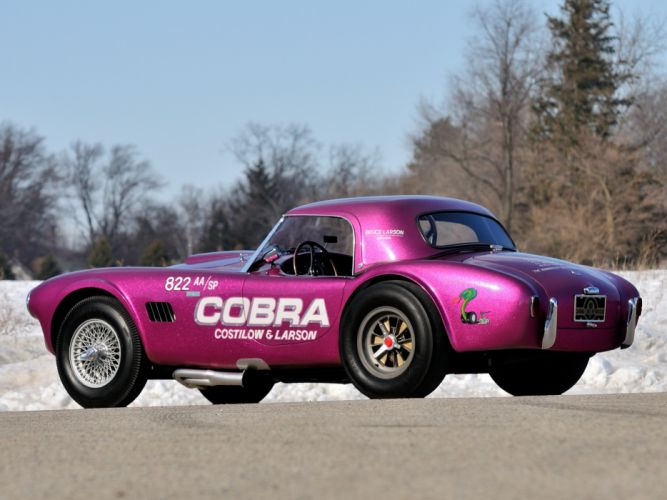 1963 Shelby Cobra Coupe Dragon Snake ford drag racing race hot rod rods muscle classic r wallpaper