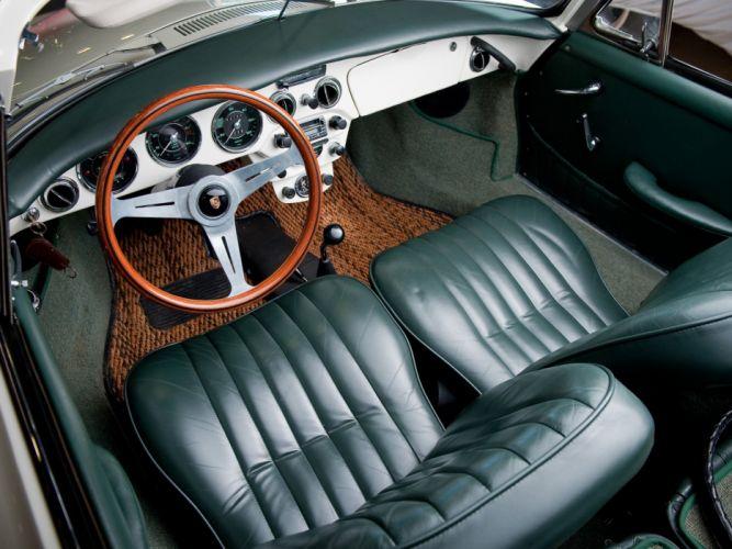 1963-65 Porsche 356C 1600 Cabriolet classic interior f wallpaper