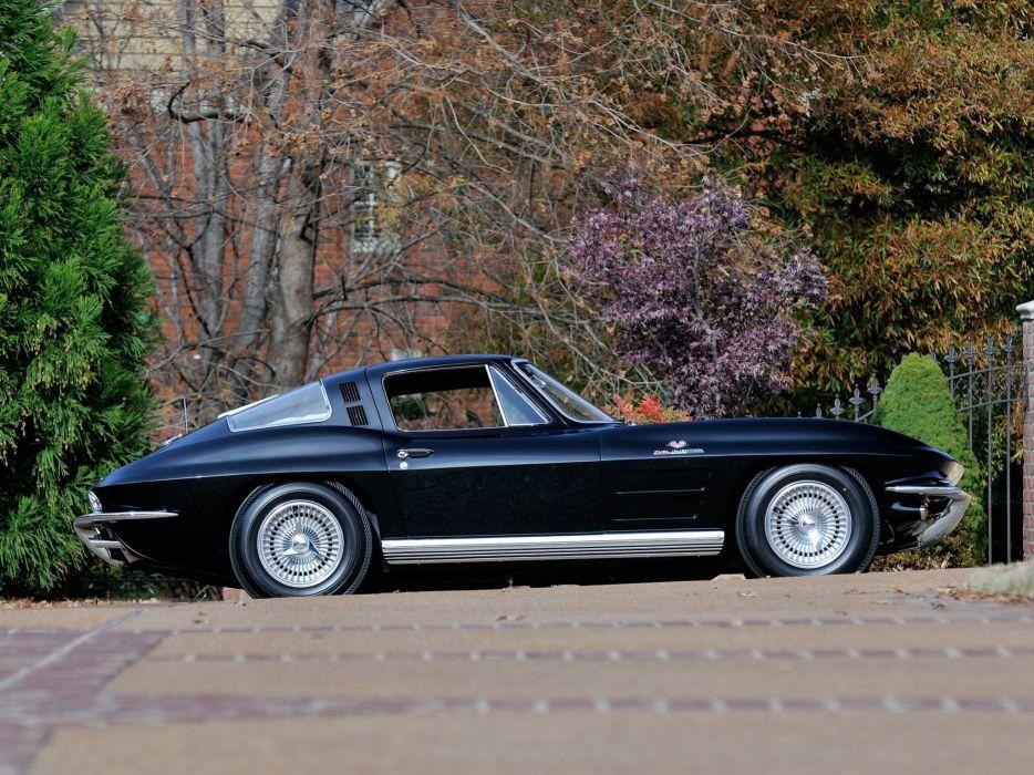 1964 Chevrolet Corvette StingRay L84 327 375HP Fuel Injection C-2 supercar muscle classic  3 wallpaper