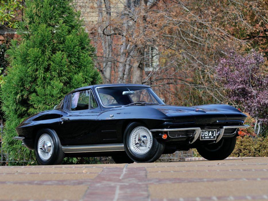 1964 Chevrolet Corvette StingRay L84 327 375HP Fuel Injection C-2 supercar muscle classic u wallpaper