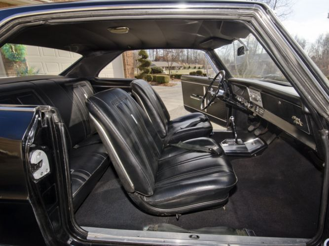 1966 Chevrolet Chevy I-I Nova S-S Hardtop Coupe 11737-11837 muscle classic interior b wallpaper