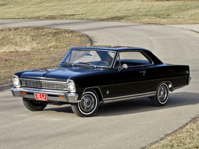 1966 Chevrolet Chevy I-I Nova S-S Hardtop Coupe 11737-11837 muscle classic c wallpaper