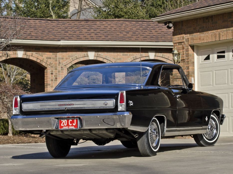1966 Chevrolet Chevy I-I Nova S-S Hardtop Coupe 11737-11837 muscle classic b wallpaper