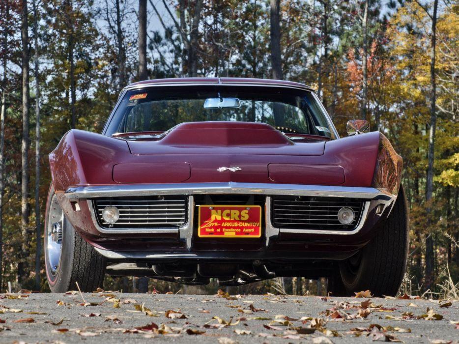 1968 Chevrolet Corvette L88 42 430HP C-3 supercar muscle classic r wallpaper