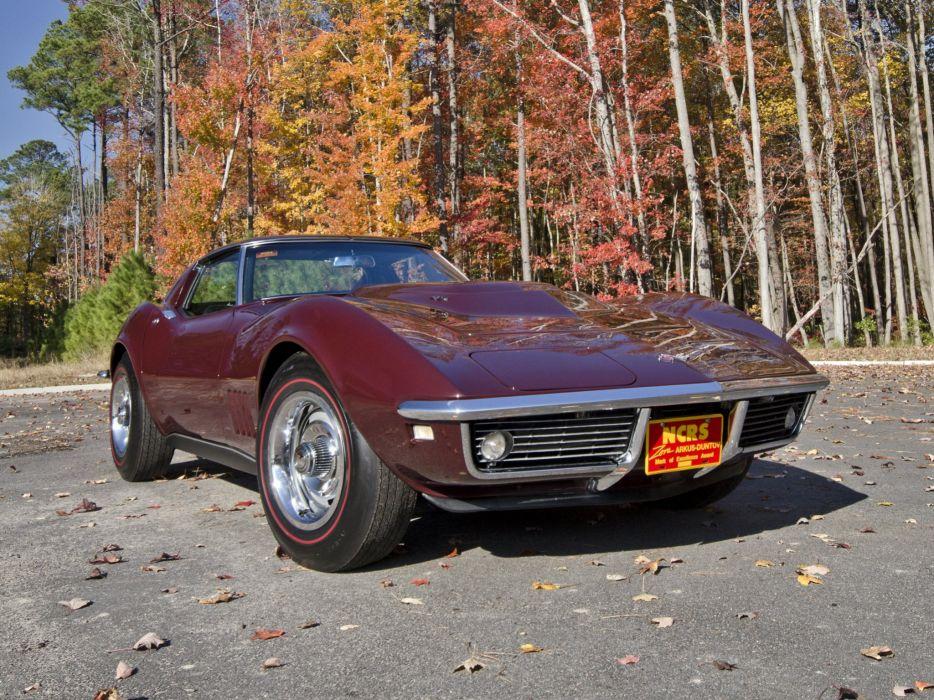 1968 Chevrolet Corvette L88 42 430HP C-3 supercar muscle classic rr wallpaper