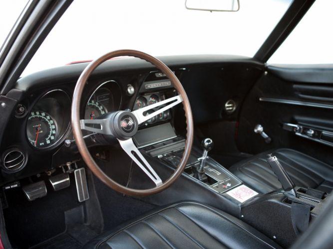 1968 Chevrolet Corvette L88 42 430HP C-3 supercar muscle classic interior f wallpaper