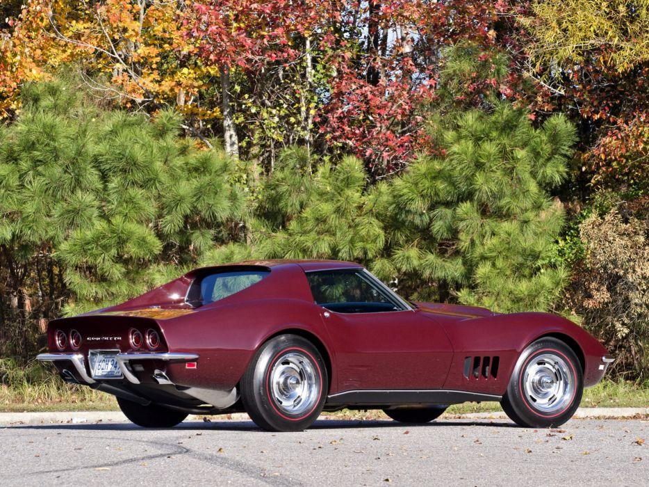 1968 Chevrolet Corvette L88 42 430HP C-3 supercar muscle classic g wallpaper
