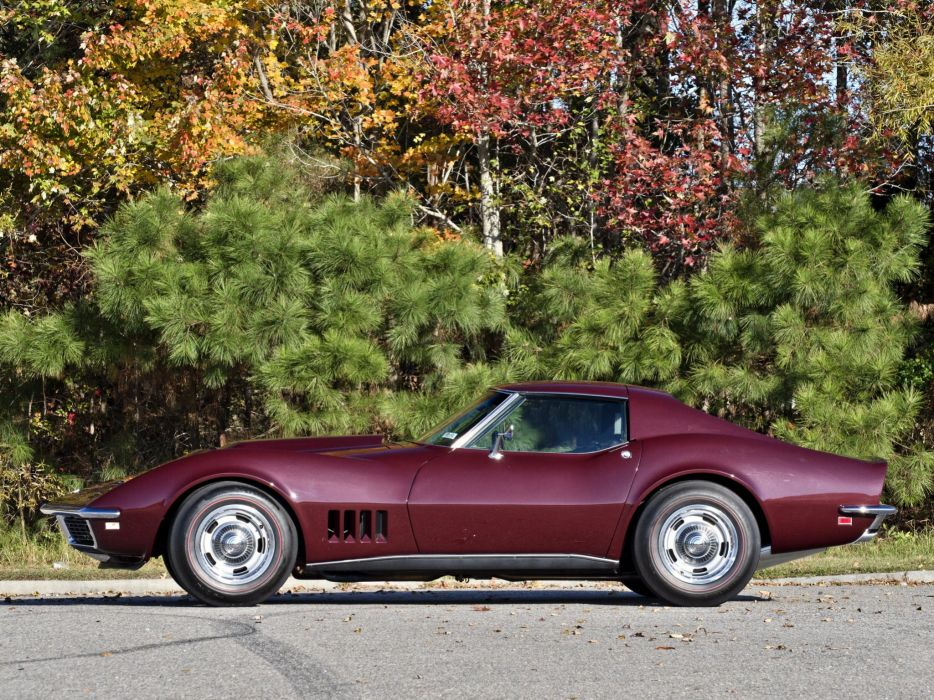 1968 Chevrolet Corvette L88 42 430HP C-3 supercar muscle classic  g wallpaper