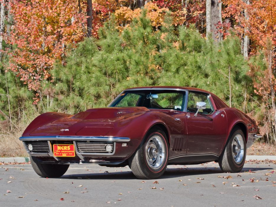 1968 Chevrolet Corvette L88 42 430HP C-3 supercar muscle classic   f wallpaper