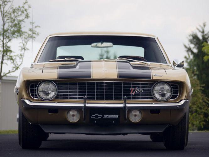 1969 Chevrolet Camaro Z28 muscle classic f wallpaper
