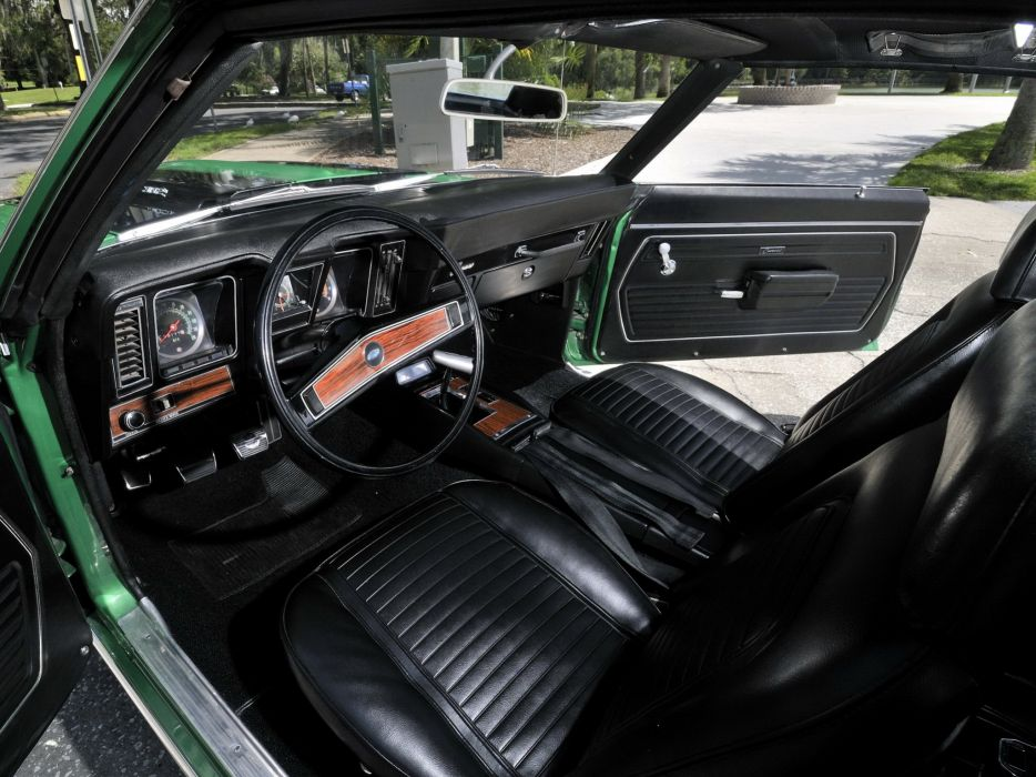 1969 Chevrolet Camaro Z28 muscle classic interior       f wallpaper