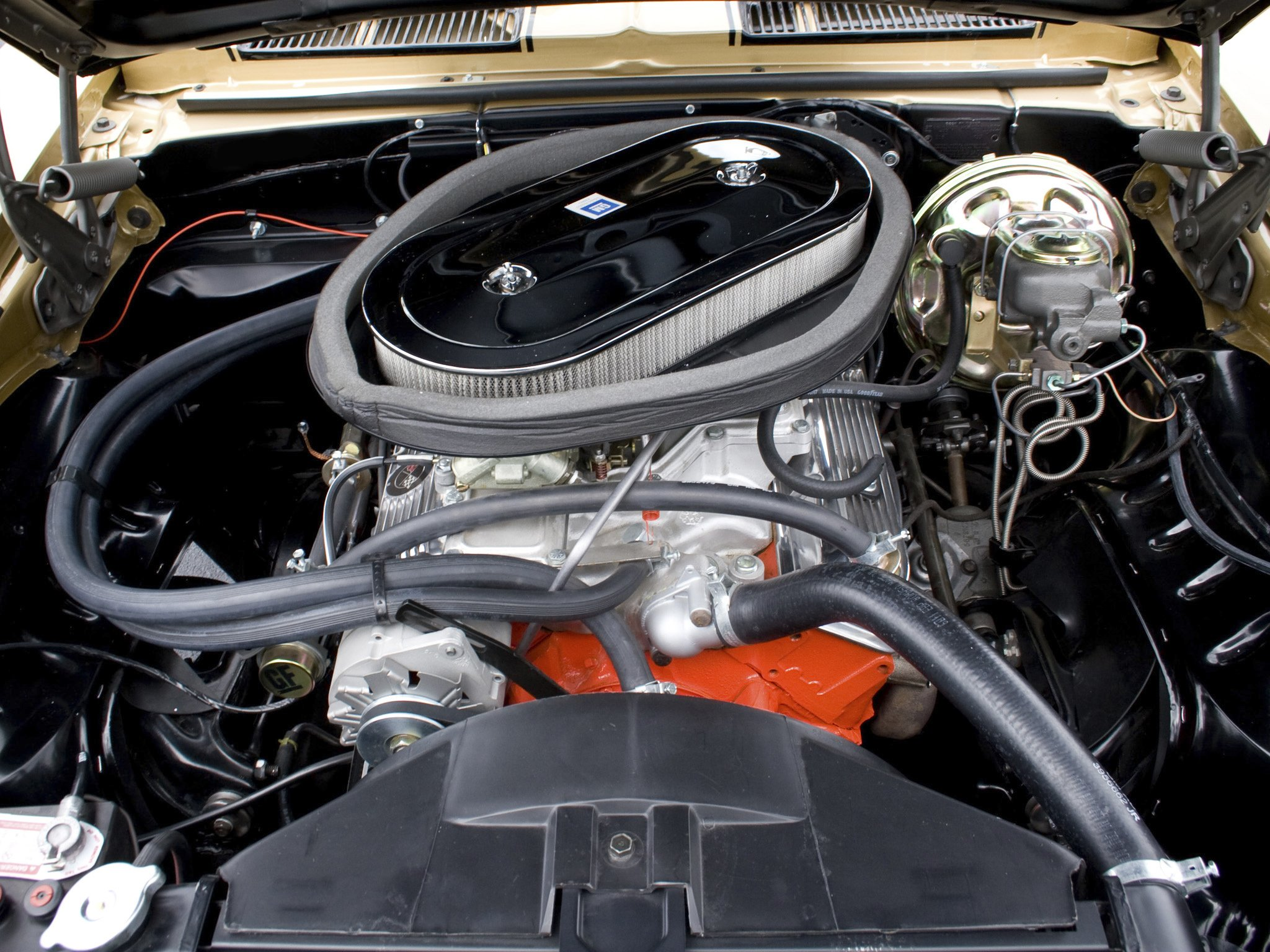 1969 Chevrolet Camaro Z28 Muscle Classic Engine F