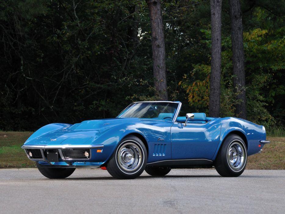 1969 Chevrolet Corvette Stingray L88 427 Convertible C-3 muscle supercar  4 wallpaper