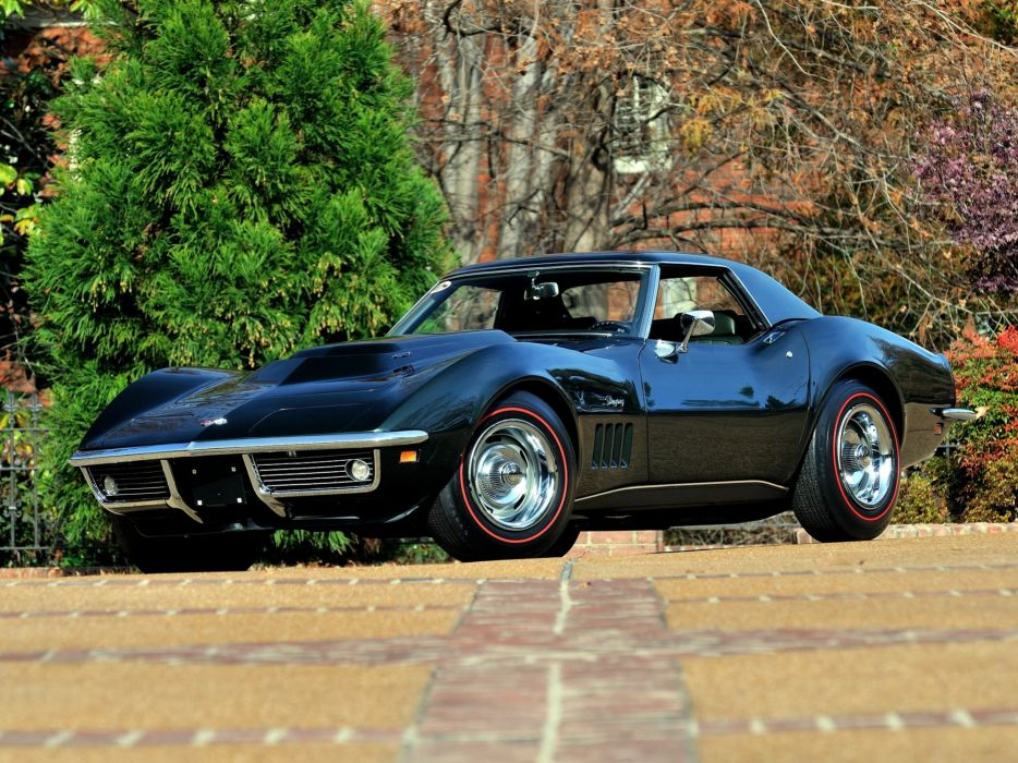 1969 Chevrolet Corvette Stingray L88 427 Convertible C-3 muscle supercar   k wallpaper
