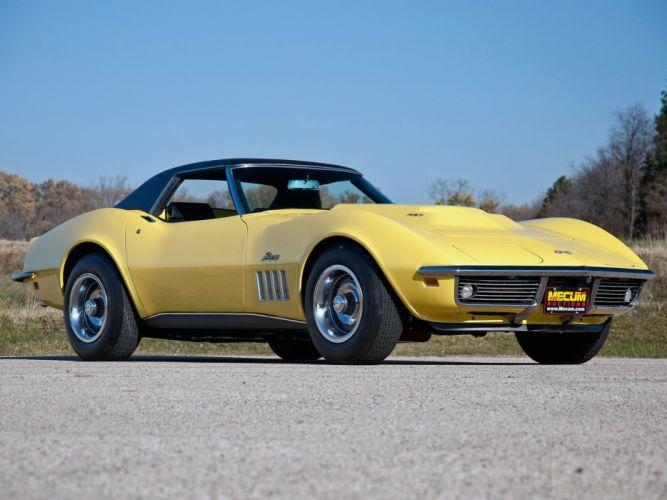 1969 Chevrolet Corvette Stingray L88 427 Convertible C-3 muscle supercar js wallpaper