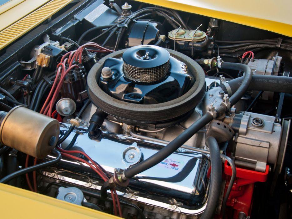 1969 Chevrolet Corvette Stingray L88 427 Convertible C-3 muscle supercar engine  g wallpaper