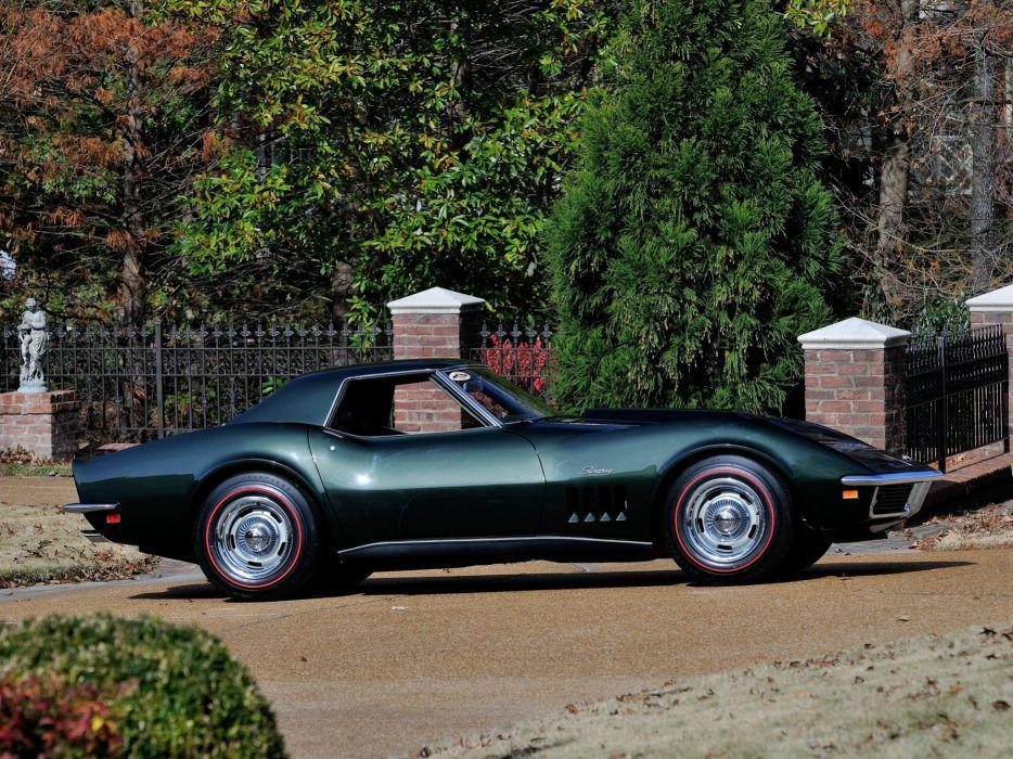 1969 Chevrolet Corvette Stingray L88 427 Convertible C-3 muscle supercar t wallpaper